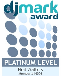 Blue Flame Disco is a PLATINUM DJmark holder