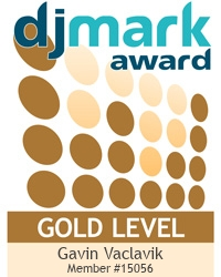 DJ:Gavin Vaclavik is a DJmark PLATINUM award holder