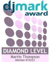 DJ Diamond Dust is a DJmark PLATINUM award holder