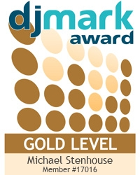 Check out Mike Stenhouse Entertainments's DJmark Award!