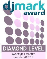 Infiniti Disco is a DJmark PLATINUM award holder