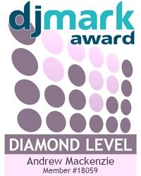 Macs Music is a DJmark PLATINUM award holder