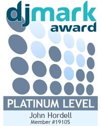 DJ John Entertainment is a DJmark PLATINUM award holder
