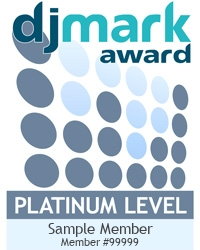 sample DJmark Platinum Award